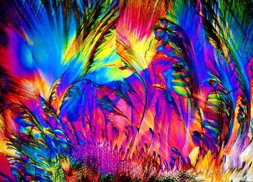A c vitamin egy még nagyobb nagyításban mikroszkóp alatt: nézd meg az előző képet is