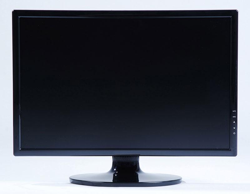A monitor előtt ülve