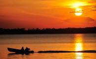 Horgászat a naplementében – eszményi feltöltődést jelenthet
